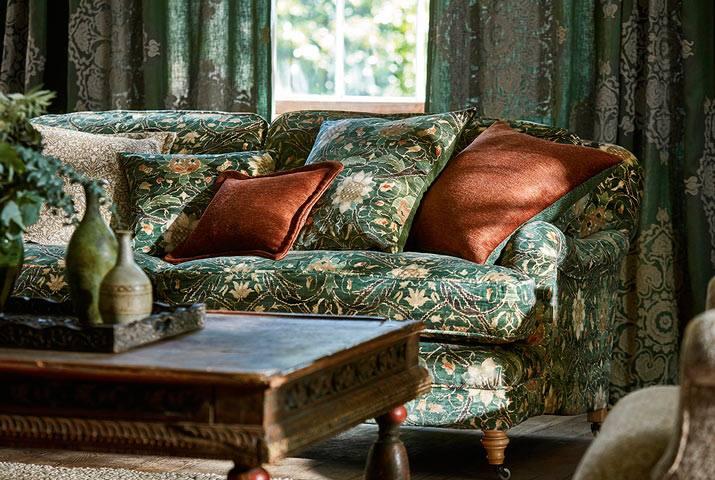 Lakberendezési tippek – Egyszerűen gyönyörű – William Morris and Co textilek